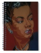 Hazel Scott Spiral Notebook