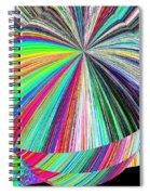 Hazelnut Abstract Spiral Notebook