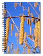 Hazelnut Tassels Spiral Notebook