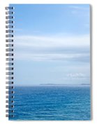 Hazy Ocean View Spiral Notebook