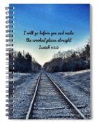 He Goes Before Us Spiral Notebook