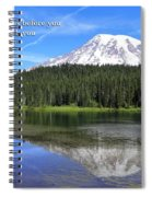 He Goes Before You Spiral Notebook