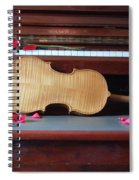 Love And Music Spiral Notebook