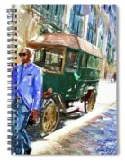He Walks Spiral Notebook