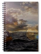 He Who Dared To Care Spiral Notebook