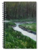 Head For The Forest Spiral Notebook