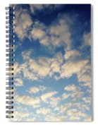 Head In The Clouds- Art By Linda Woods Spiral Notebook