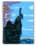Head In The Clouds Spiral Notebook