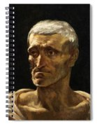 Head Of A Shipwrecked Man  Spiral Notebook