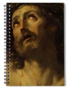 Head Of Christ Crowned With Thorns 1620 Spiral Notebook