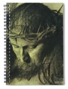 Head Of Christ Spiral Notebook