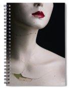 Head Of Dummy Spiral Notebook