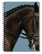 Head Shot Spiral Notebook