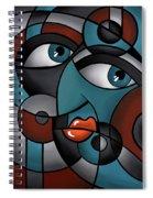 Head Spin Spiral Notebook