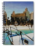 Headed For The Beach Spiral Notebook