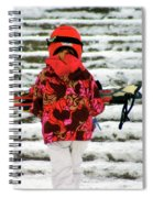 Heading For The Slopes Spiral Notebook