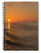 Heading Into The Sunset Spiral Notebook