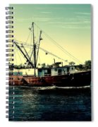 Heading Out - Jersey Shore Spiral Notebook