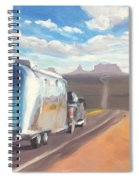 Heading South Towards Monument Valley Spiral Notebook