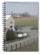 Heading To The Barn To Do Chores Spiral Notebook
