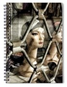 Heads' Prison Spiral Notebook