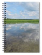 Headwaters Of The Mississippi Spiral Notebook