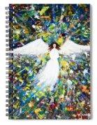 Healing Angel 1 Spiral Notebook