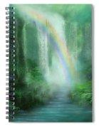 Healing Grotto Spiral Notebook