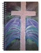 Healing In His Wings Spiral Notebook