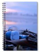 Healing Stones Balancing Meditation Art  Spiral Notebook