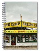 Health Camp Spiral Notebook