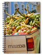 Healthy Fast Food Spiral Notebook