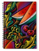 Healthy Fruit Spiral Notebook