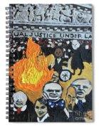 Hear No Evil See No Evil Judicial Abuse Spiral Notebook
