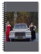 Hearse'n Around Spiral Notebook