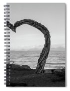 Heart Arch Spiral Notebook