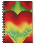 Heart Beat Spiral Notebook