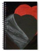 Heart Blocker Spiral Notebook