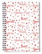 Heart Jp08 Spiral Notebook