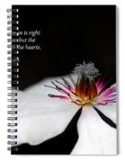 Heart Spiral Notebook
