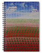 Heart Fields Spiral Notebook