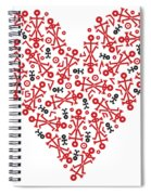 Heart Icon Spiral Notebook