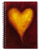 Heart Of Gold 1 Spiral Notebook