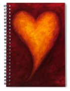 Heart Of Gold 2 Spiral Notebook