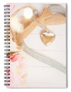 Heart Of Roses Spiral Notebook
