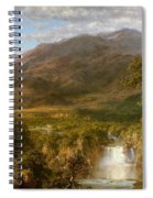 Heart Of The Andes Spiral Notebook
