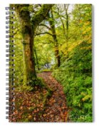 Heart Of The Forest Spiral Notebook