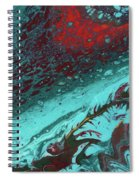 Heart Of The Sea Spiral Notebook