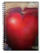 Heart Of The Sunrise Spiral Notebook