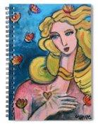 Heart Of Venus Spiral Notebook
